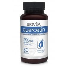 QUERCETIN 250mg 50 капсули - за имуната система, намалява симптомите при алергия, противовъзпалително