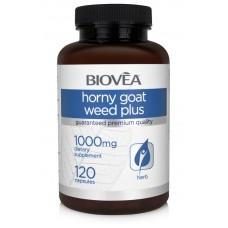 HORNY GOAT WEED PLUS 120 Capsules - афродизиак, повишава тестостерон и потентността