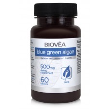 BLUE GREEN ALGAE (Organic) 500mg 60tabs - супер храна, мощен детоксикатор