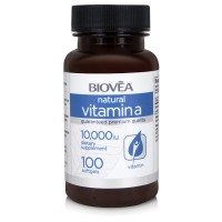 VITAMIN A 10,000 IU 100 Softgels - за здравето на очите