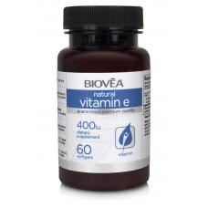 VITAMIN E 400 IU 60 Softgels - мощен антиоскидант и имуностимулатор