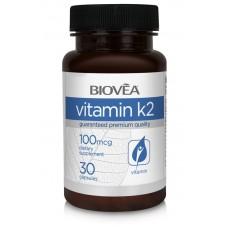 VITAMIN K2 100mcg 30 capsules - за здрави кости, зъби и хрущял