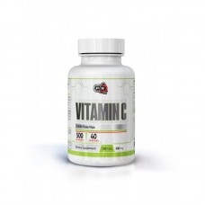Vitamin C 500 mg 100 табл PURE Nutrition