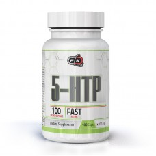5-HTP 100 МГ 100 КАПСУЛИ  - PURE NUTRITION