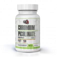 CHROMIUM PICOLINATE 200 МКГ 100 КАПСУЛИ - PURE NUTRITION