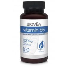 VITAMIN B6 100mg 100 Tablets - засилва имунитета и пази мозъка - срок на годност 30.10.2020г.