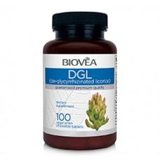 DGL (De-Glycyrrhizinated Licorice) 100 caps - регулира храносмилането
