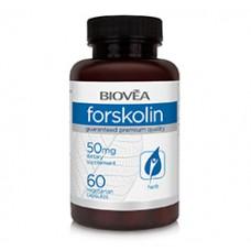 FORSKOLIN 50mg 60 Vegetarian Capsules - за изгаряне на мазнини и изграждане на мускули - срок на годност - 30.09.2020