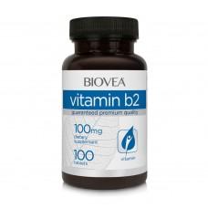 VITAMIN B2 100 mg  - подобрява усвояването на храната - продуктът е със срок на годност 30.11.2020